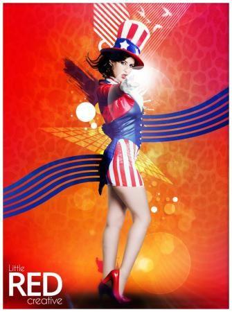 STARS n STRIPES #design #digital #art #photoshop #tutorial #graphic #advancedphotoshop