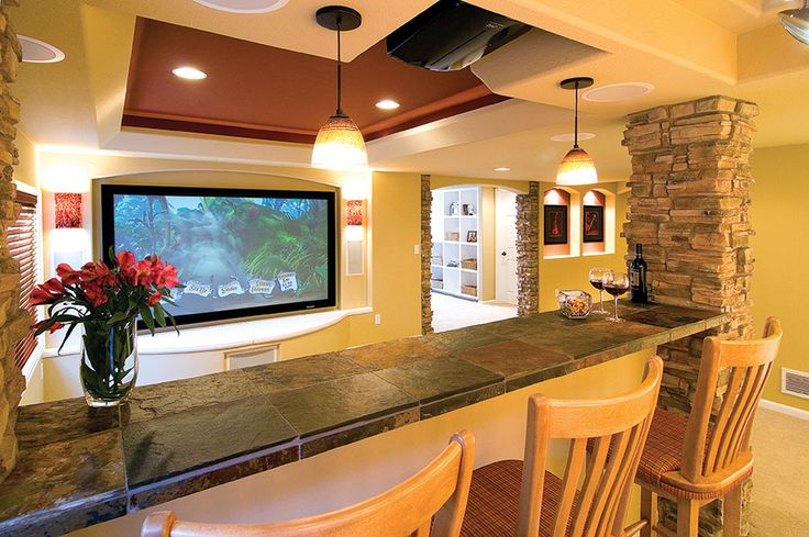 Basement home theater ideas, DIY, small spaces, budget, medium, inspiration, moldings, house plans, columns, woods, comfy couches, family movies, gray, man cave, layout, interiors and pool