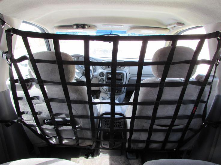 2002 - 2009 GM Envoy, Chevrolet TrailBlazer, Buick Rainier, Oldsmobile Bravada, Isuzu Ascender, Saab 9-7X Behind Front Seat Barrier Divider