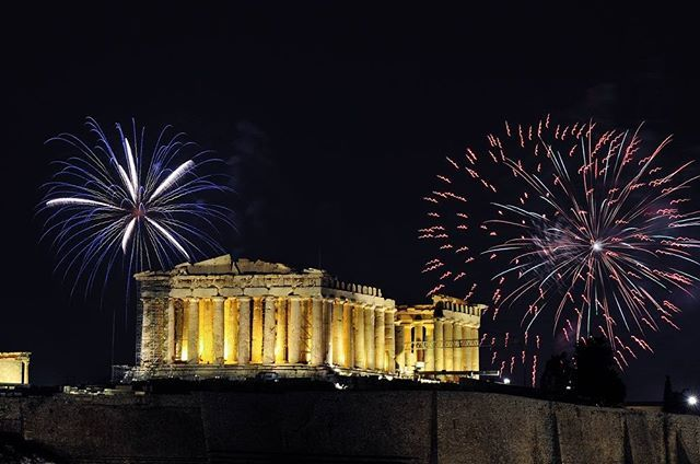 Athens Greece - Getting ready for the countdown? Where will you go to see the fireworks tonight?