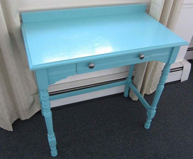 Newly Painted Desk by OnTheWander, via Flickr