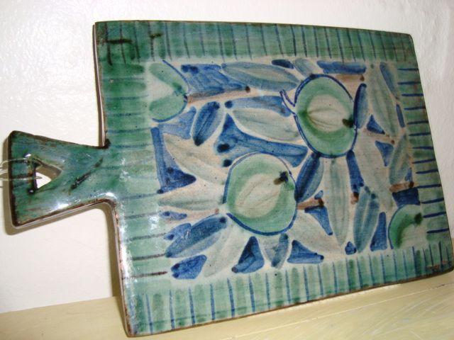 RAS bordskåner/dish mat. År/year 1940-50s. #RAS #bordskaaner #dishmat #keramik #ceramics #pottery #danishdesign #nordicdesign #klitgaarden #tilsalg #forsale on www.klitgaarden.net.