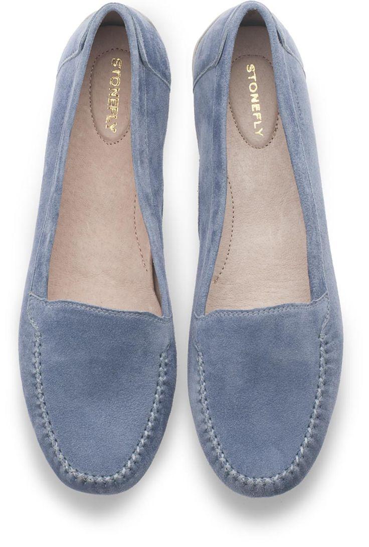 Kelly #mocassino in #camoscio - #scarpe #donna #women #shoes #