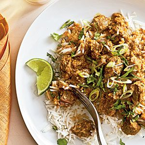 Beef Rendang | MyRecipes.com This rich Malay curry features aromatic lemongrass, garlic, ginger, and cinnamon. Make sure the beef mixture cooks at a low simmer so the sauce doesn't scorch and the meat slowly becomes tender. If you can't find unsweetened coconut, use sweetened flaked coconut and omit the added sugar.