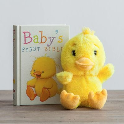 65 best christian baby gifts images on pinterest baby gifts easter first baby bible and plush duck gift set negle Choice Image