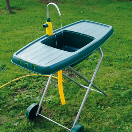 Mobile Outdoor Sink Campers Pinterest Outdoor Sinks