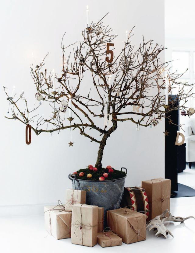 9 alternative Christmas tree ideas - French By Design