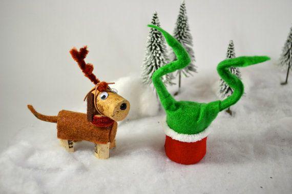 grinch stole christmas dog
