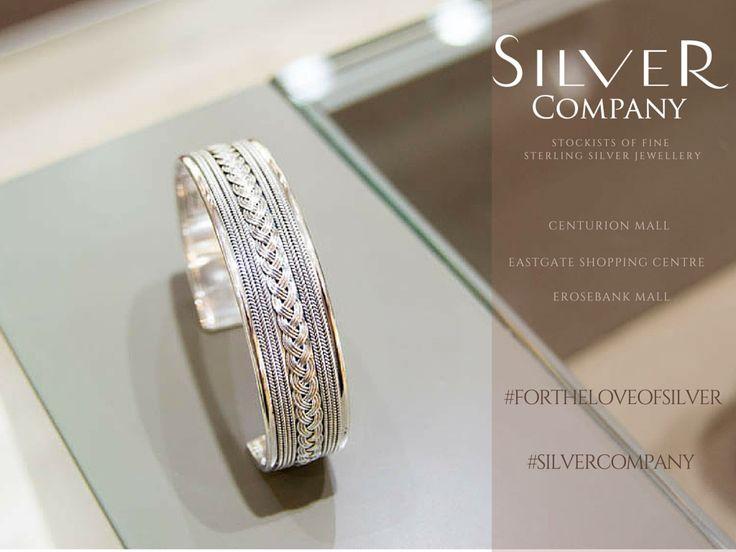 Sterling silver bracelet. Silver Company- Stockists of fine sterling silver jewellery. <3 <3 #fortheloveofsilver