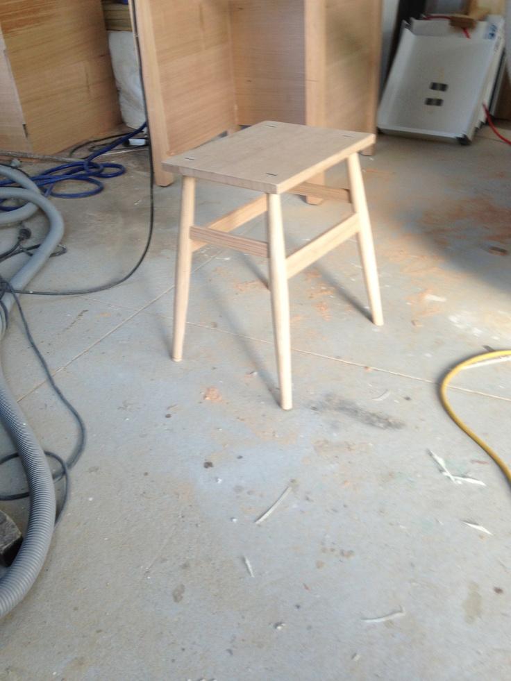Belmore Bootmakers stool