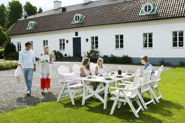 BULLERÖ MATGRUPP 8 personer - 6 stolar