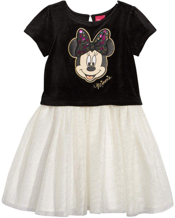 17d206b7 Disney Minnie Mouse Velvet Tutu Dress, Toddler Girls #disney ...