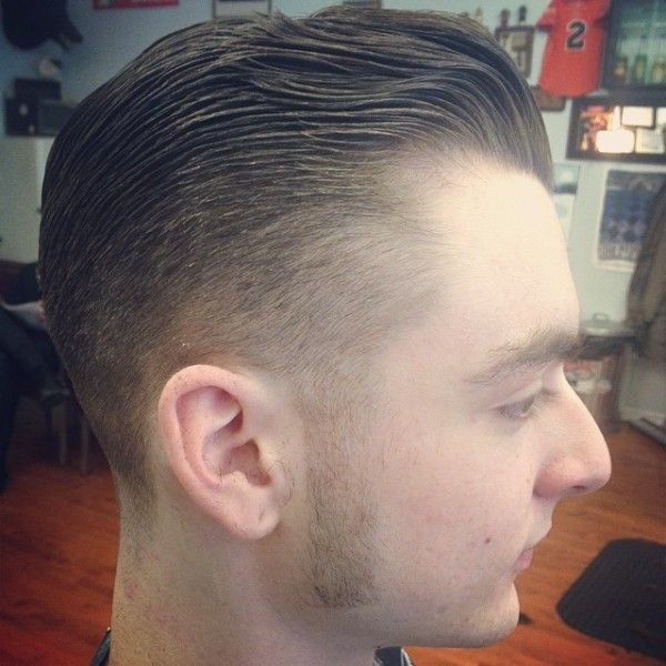 how to cut long sideburns