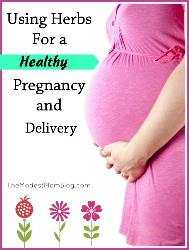 Using Herbs for a Healthy Pregnancy and Delivery. I had an amazing birth experience with our fifth child by using the herbs mentioned!