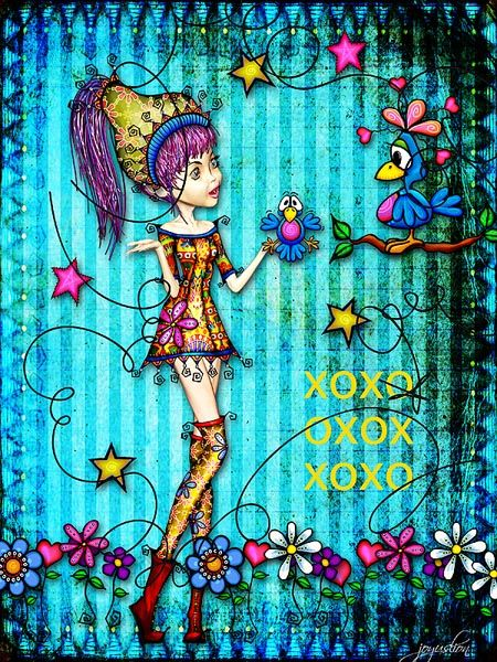 Picture by joyuslion using 'Annie Mae' kits at Mischief Circus
