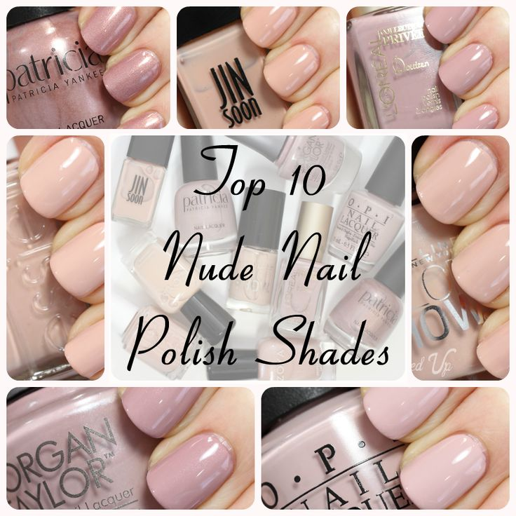 Top 10 Nude Nail Polish Colors for Spring 2014