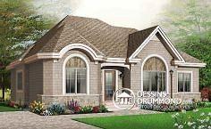 Plan de maison no. W3106 de dessinsdrummond.com