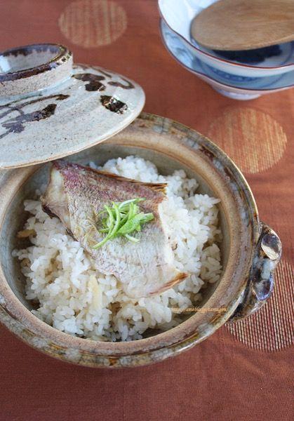 白だしほっこり鯛飯 by タラゴン (奥津純子) | レシピサイト「Nadia ...