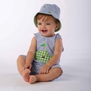 Women's Clothing With Cute Golf Applique Boys Golf Baby Boys Golf