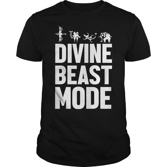 Cool Divine Beast Mode white TShirt T shirts