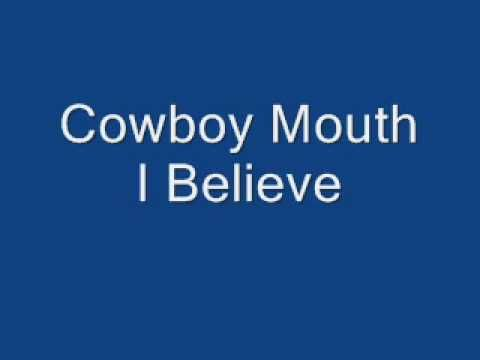 I Believe - Cowboy Mouth. Check them out during Foo Foo Fest at the Vinyl Music Hall in Pensacola!