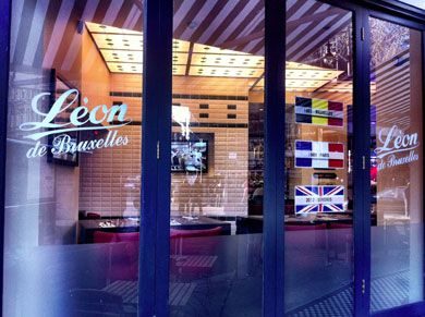 Léon de Bruxelles WC2: The famous mussels from Brussels pitch up in the heart of Theatreland; the result is a rather formulaic chain outlet, enlivened only by the friendly staff, and the high quality of the star menu item. #london #restaurants