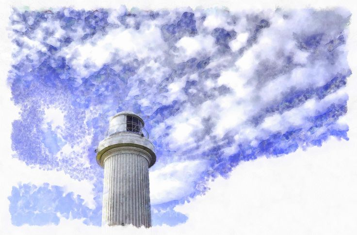 Lighthouse In The Sky: Artwork and photography by Jason Hughes.11200 x 7392 pixels.JPEG file typeBuy, download and share on social media, web or print.