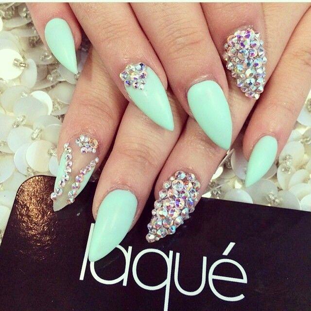 Mejores 44 imágenes de Glitter Nails en Pinterest   Belleza ...