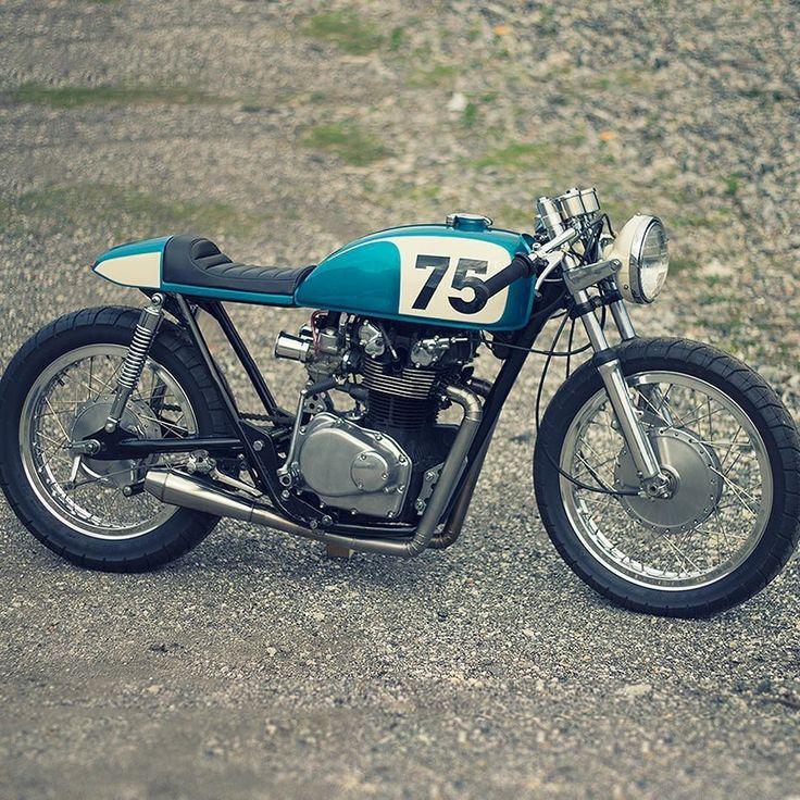 Miami Honda: Classic Cafe Racer Style: A Honda CB550 From