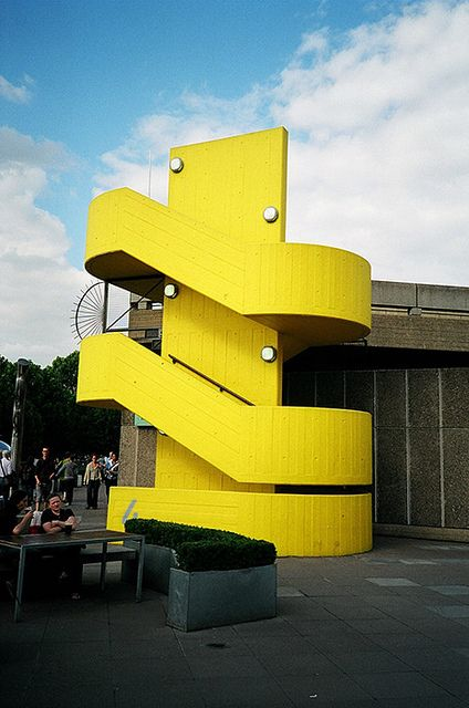 HAYWARD GALLERY | SOUTHBANK CENTRE | SOUTH BANK | LONDON | ENGLAND: *Opened: 9 July 1968; Architects: Norman Engleback, Ron Herron & Warren Chalk*