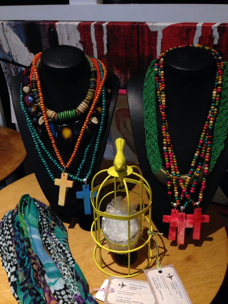 Jewellery and homewares. Enquire at totsiestravels@gmail.com