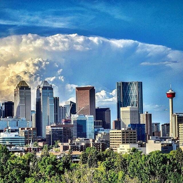 Proud of our beautiful city - Calgary.