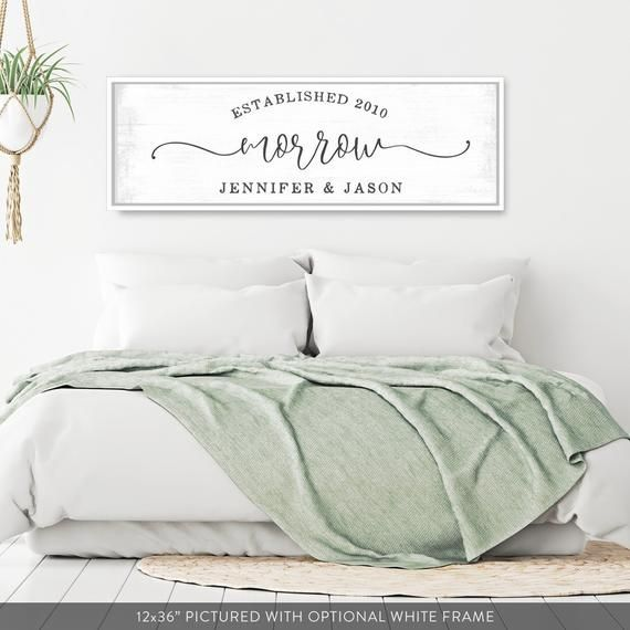 Master bedroom wall decor over the bed-marriage signs-bedroom signs above bed-wedding gift for couple-bridal shower gift-wall decor bedroom