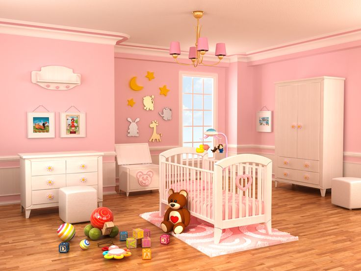 nursery with white furniture. 18 baby girl nursery ideas themes u0026 designs pictures with white furniture