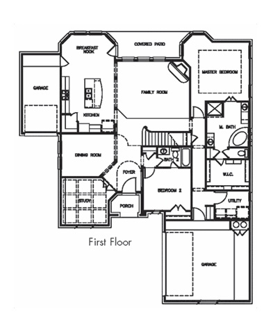 Trophy Park Model Floor Plans - 0425