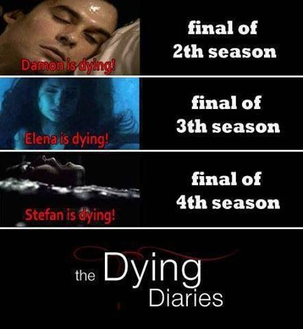 Oh my God the grammar here is giving me an aneurysm. *Finale of 2ND season and 3RD season. Not Final of 2th and 3th. Twooth? Threeth?