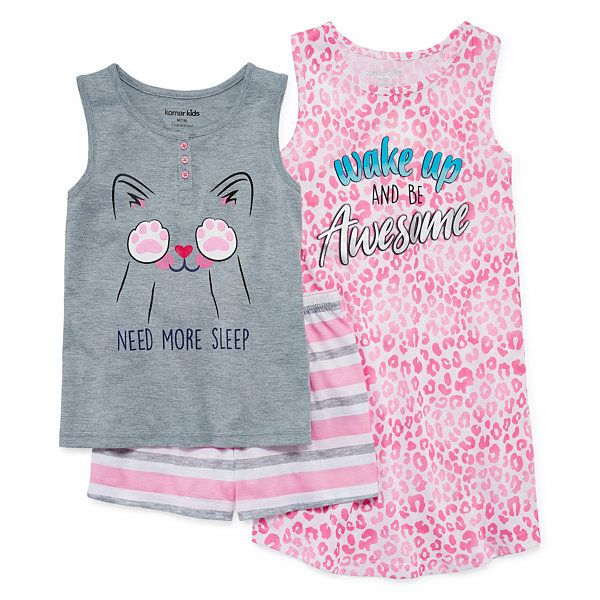 3-pc. Pajama Set Girls
