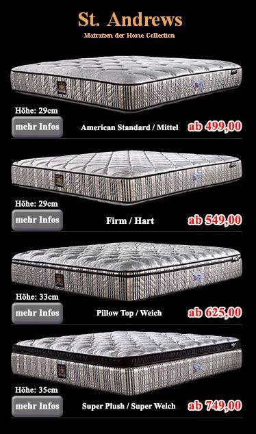 pin von boxspring ag auf gefederte matratzen f r. Black Bedroom Furniture Sets. Home Design Ideas