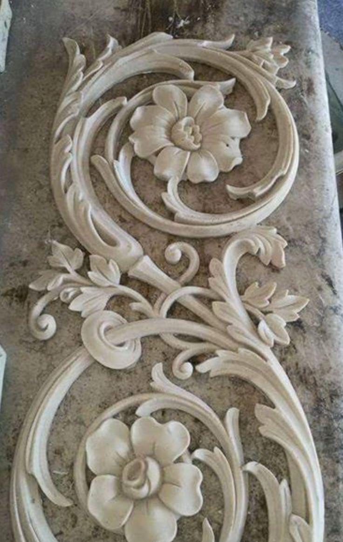 Plaster art decor