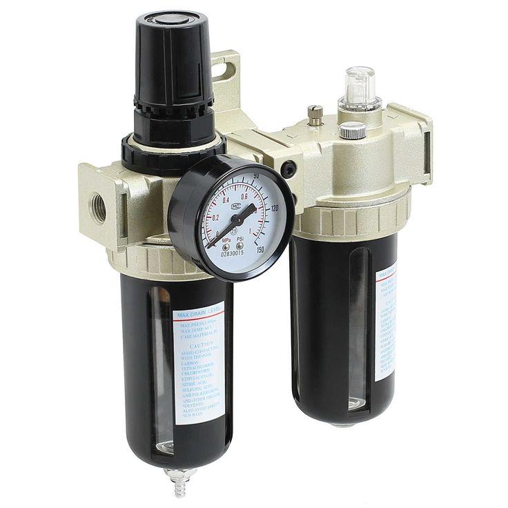 Air Compressor Filter - Lubricator Inline Regulator