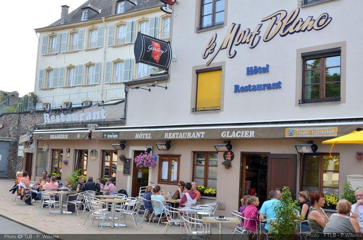 "Hôtel ""Le Mont-Blanc"" in Bouillon (Land of Bouillon in the Ardennes, South Belgium)"