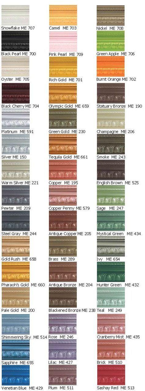 Best 25 metallic paint colors ideas on pinterest spray paint colors metallic spray paint Metallic spray paint colors