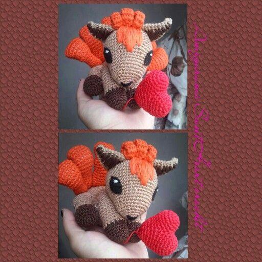 Amigurumi Vulpix Pattern : 17 Best images about Crochet #amigurumi on Pinterest ...
