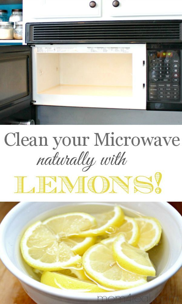 how to clean a microwave ckn
