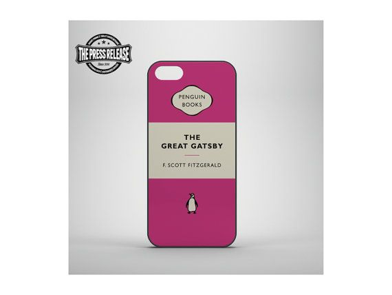Penguin Book Phone Cover : Best awesome literary iphone cases mostly for plus