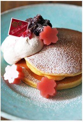 トイロさんちのあれこれ~簡単おやつや好きなもの~「 「しっとりもっちり桜パンケーキプレート」」 | お菓子・パンのレシピや作り方【corecle*コレクル】