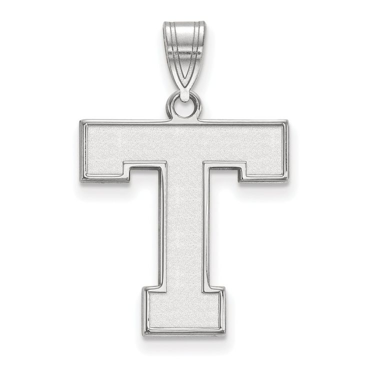 925 Sterling Silver Rhodium-plated Laser-cut Tarleton State University Large Pendant. 100% Satisfaction Guaranteed. 30 Day Money Back Guarantee. Upto 60% Off Retail. Collegiate Jewelry Collection. Tarleton State University Jewelry.
