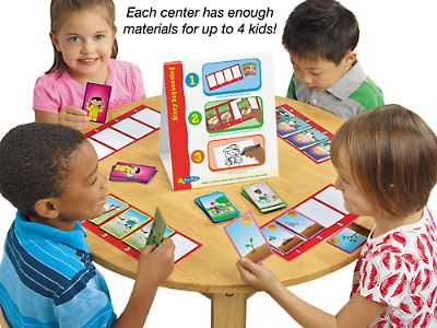 Story Sequencing Instant Learning Center at Lakeshore Learning