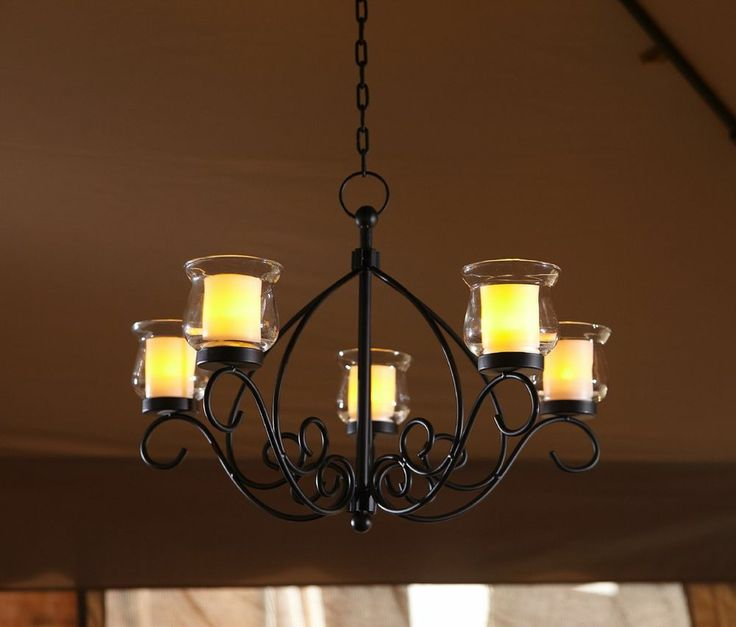 Chandelier Outdoor Lighting: Best 25+ Hanging Candle Chandelier Ideas On Pinterest