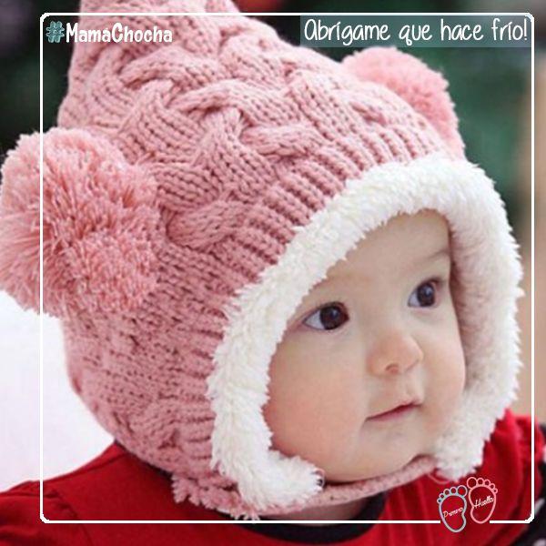 #MamáChocha, las mañanas están soleadas pero el frío se siente hasta los huesos! Siempre ponle un gorro a tu bebé, y si puedes guantes o mitones! Si necesitas y no tienes, en www.primerahuella.cl lo encontrarás!